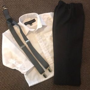 Other - Dress Pants, Shirt and Suspenders Set